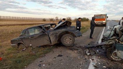Два человека погибли в ДТП в Актюбинской области