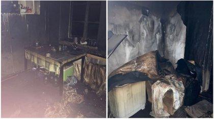 Женщина-инвалид заживо сгорела в Балхаше
