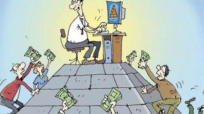 Опубликован список организаций с признаками финансовой пирамиды и нелегальных инвестиционных посредников