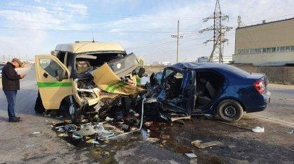 Cкончалсяпострадавшийв тройном ДТП с участием инкассаторской машины в Мангистау