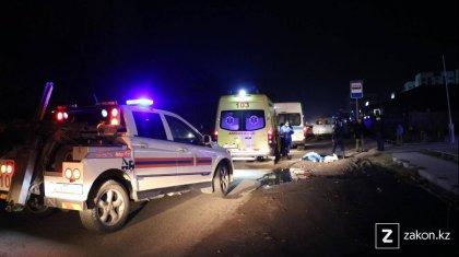 Смертельное ДТП в Алматы: водитель попытался скрыться с места происшествия