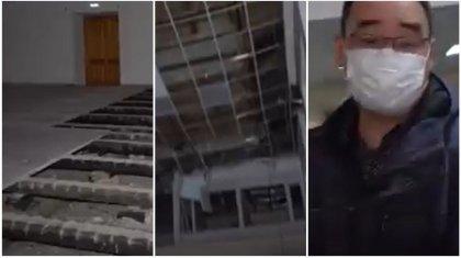 Сотрудник дома культуры «постеснялся» убогого состояния здания и выгнал журналистов в Петропавловске