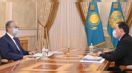 Президент Казахстана дал поручение премьер-министру