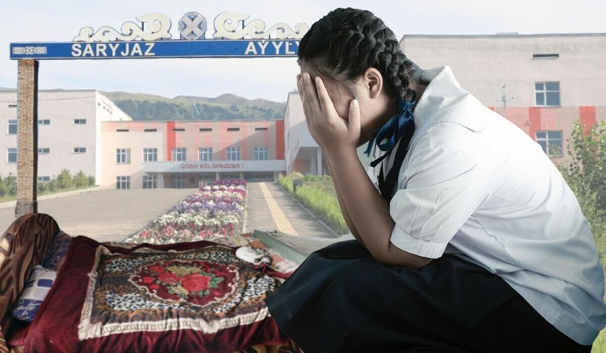 Изнасилованная родным дядей 13-летняя девочка забеременела в Алматинской области