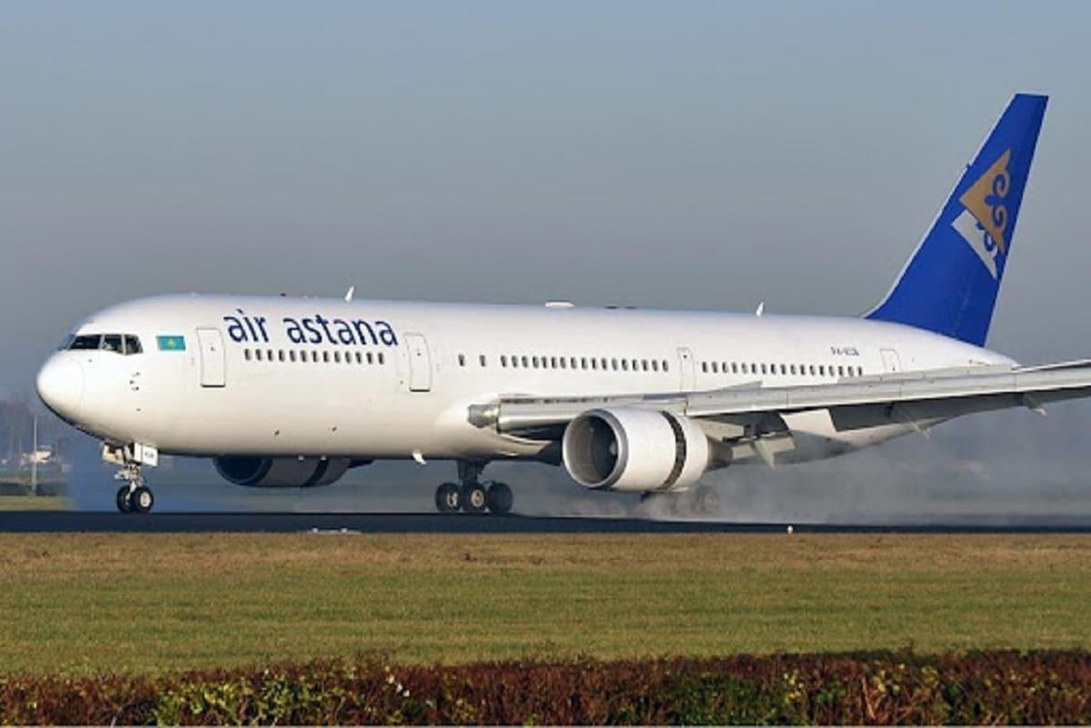 Рейс Air Astana из Нур-Султана не долетел до Стамбула и сел в Атырау